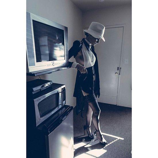 The Motel Vice Series. Model @the.kiera.smith Mua Hair @makeup_by_melody_k Styling Designer  @marina_zoj Assistant @sosolaleo Woman Portrait Photography Style Fashion Editorial  Noir Interesting Inspiration Laphotographers Voir