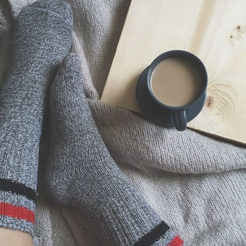 Cozy socks Cozy Cozy At Home Cozy Socks Socks Coffee Cup Socks Cozy Place Cozy Atmosphere Lazy Sunday