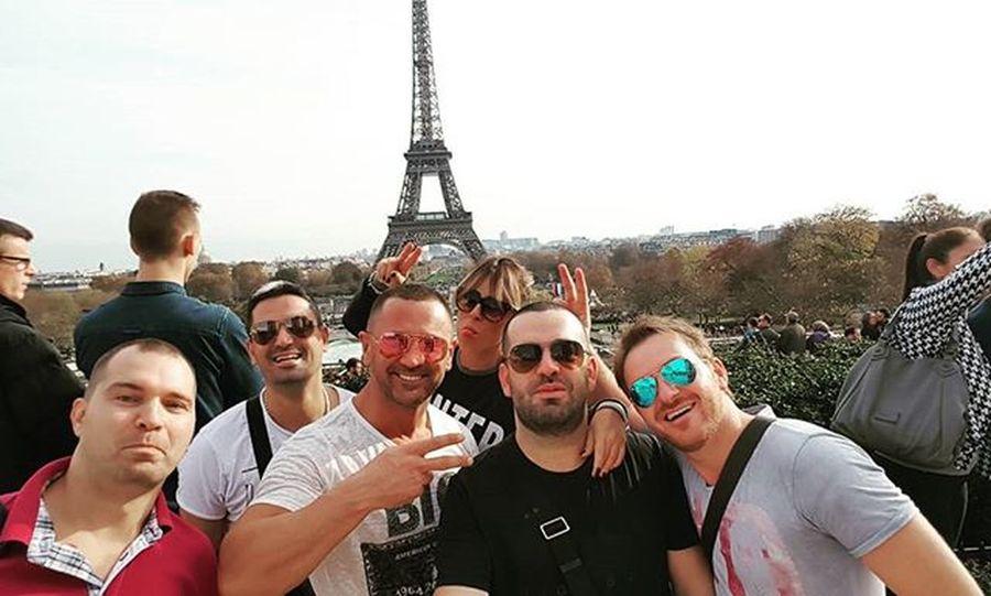 Pariz... ☺ Paris Eifeltower Trocadero Allegroband