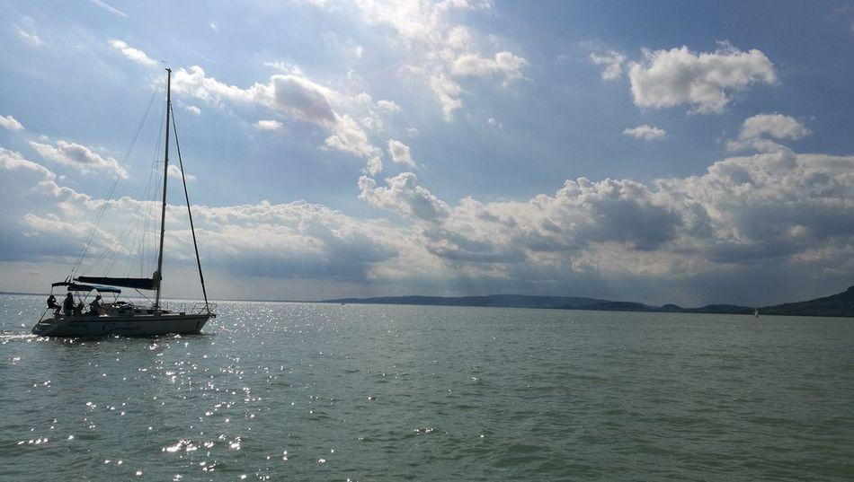 Balaton Balaton - Hungary Fonyód Lake Balaton Jacht Boat Huawei HuaweiP9