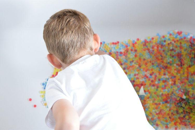 EyeEm Selects Tub Bath Balloons Childhood Childrens Orbeez Colourful Water Beads Sensory Colours The Week On EyeEm