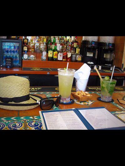 Cocktail Hour Margaritas Moito Florida Life