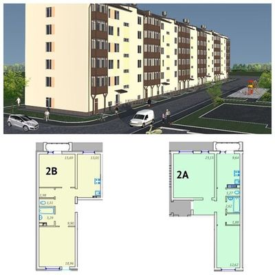 Новый дом ГП-4 в ЖК «Клевер» 2-комн. от 2500 тыс. руб. Тюмень Tyumen новостройкитюмени квартира  скидки новостройка