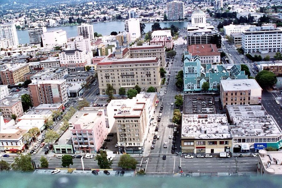 Lookingdown Real Film Oakland Tribune Tower
