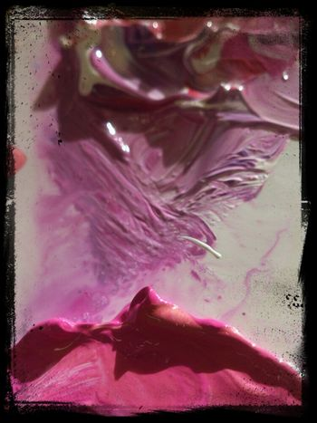 Art Colours Abstractions In Colors Sony Xperia Palet From Painterstudent EE_Daily: Purple Saturday