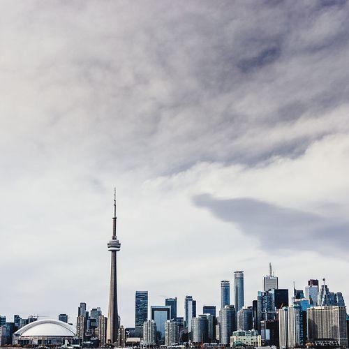 toronto skyline as seen from olympic island Toronto Cityscapes City The Architect - 2015 EyeEm Awards Canada Urban Urban Geometry Street Photography Streetphotography Skyline