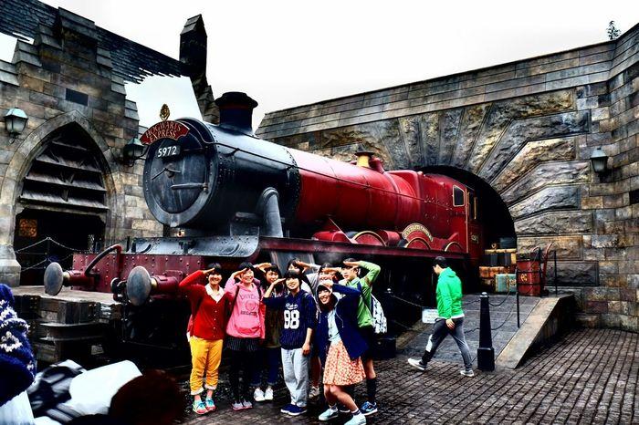 USJ Osaka,Japan Magic Train Excited Nice! Children