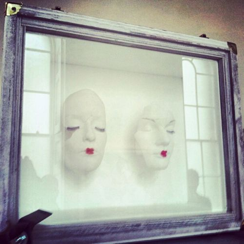 Timwalker Fashion Masks Red photography photo art white faces
