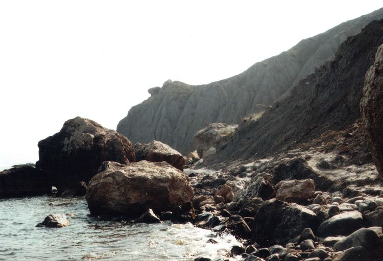 35mm Beauty In Nature Cliff EyeEm Nature Lover Film Geology Landscape Majestic Mju Mju2 Mountain Nature Olympus Outdoors Sea Sky Summer Summertime Tourism Travel Traveling Water