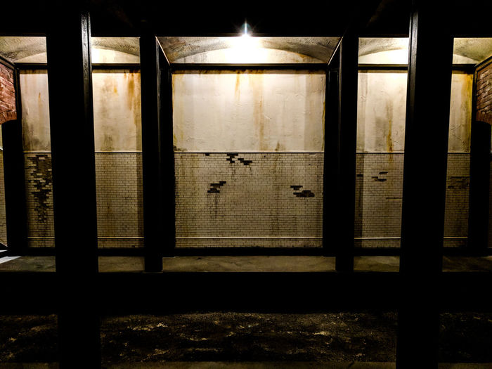 Dystopian Subway Train Station Subway Metro Metro Station Abandoned Dystopian Indoors  Window No People Day Close-up