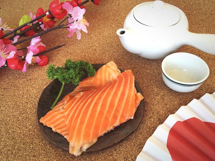Food And Drink Food Freshness Indoors  Cultures Day Medical Capsule Oil Fish Salmone