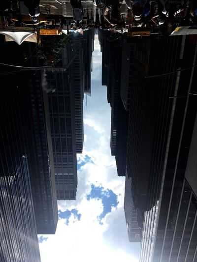 My Empire State Building... City Architecture Outdoors Sky And Clouds Skybuilding Upside Down Anotherpointofview Thinkdifferent Skyscraper Creative Summer Thesunaftertherain New York New York City Adapted To The City Adapted To The City EyeEmNewHere