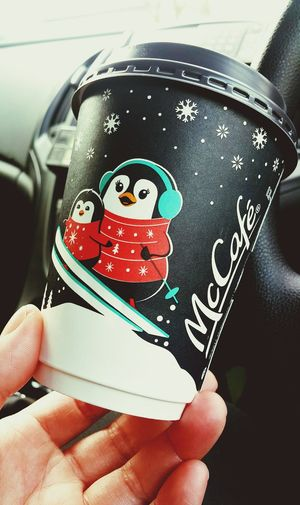 Human Hand Car Interior Mcdonalds McDonald's McDonald's Signs McDonalds Chillin  Mcdonaldscoffee Mcdonalds Breakfast (: McDonaldsTime Coffee Festive Season Coffee Cup Coffee Time Disposable Cup Disposable Christmas Spirit Christmas Is Coming McCafe