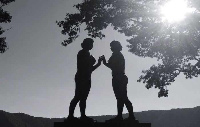 乙女の像 、十和田湖にて。 Landscape_Collection AMPt - Shoot Or Die Lakeside Statue