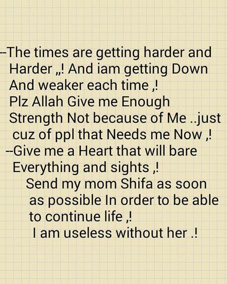 Mom ❤ Sick :( Hurts Pain Allah ❤❤ Help MyHeart❤ Love ♥ Parents ❤❤❤ Family❤