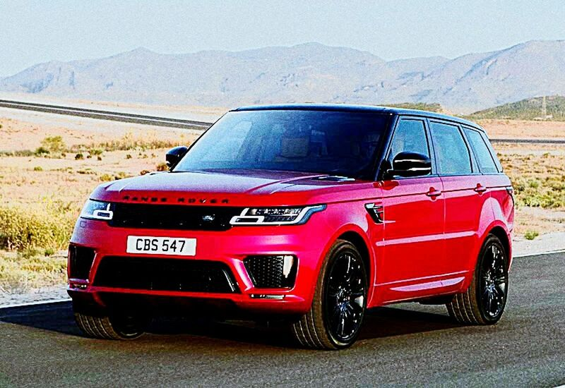 Range Rover Sport Range Sports Car Car 4x4 Off-road Vehicle