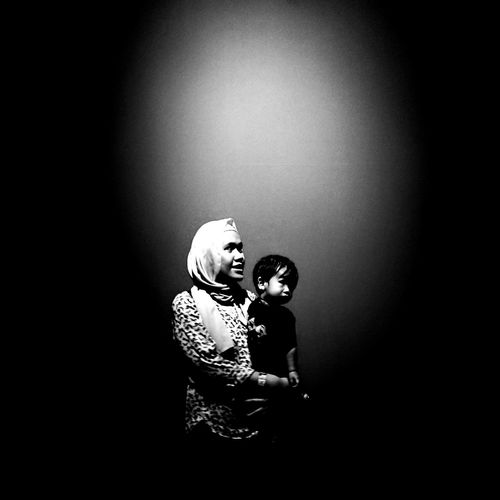 """""""Mother's love is bliss, is peace, it need not be acquired, it need not be deserved.If it is there, it is like a blessing; if it is not there it is as if all the beauty had gone out of life."""" #blackandwhite #grayscale #photography #Mom  #mikel #motherslove Child Childhood Darkroom"""