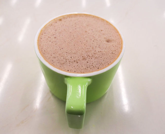 Hot milk cocoa