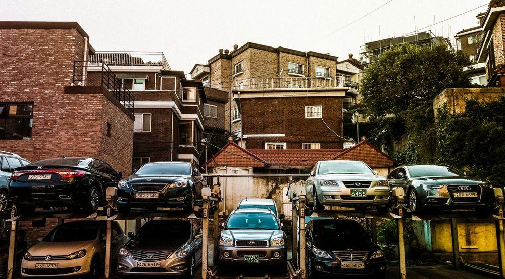 Cars Parking Lot Streetphotography The Street Photographer - 2015 EyeEm Awards EyeEm Best Shots Getting Inspired Urban Landscape Eye4photography  Vintage EyeEm Korea