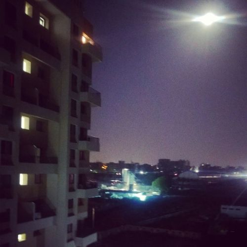 Night Moon Pune Balcony Chill High