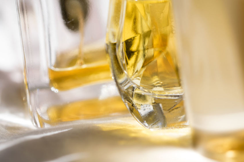 detail of perfime bottles Appeal Bottle Charme Fashion Light Light And Shadow Perfume Perfumes