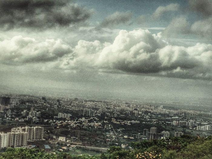 Cloud - Sky Outdoors Sky No People City High Angle View Monsoon Season Nature The Week On EyeEm