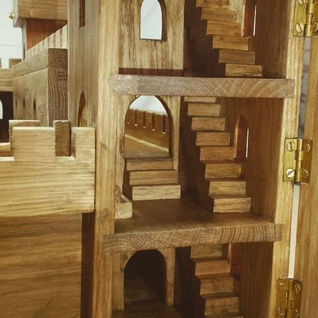 Carpentry Interiordecor Gameofthrones CastleBlack giftsformen architecture bespoke warhammer heirloom bespoke special gifts giftsforwomen dollhouses americanoak magic sonabeam commission exhibitions castle collectors wood spellboundarts knights smallscalemagic military soldiers