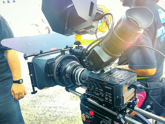 My weapon on my film. Vscocam Sony Sonyfs100 Filmmaking Filmcamera