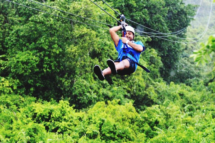 Punts Cana zip line Plant Rope Leisure Activity Real People A New Beginning Extreme Sports Green Color Adventure