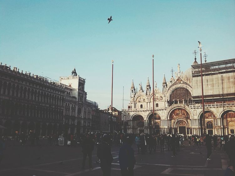 Beautifully Organized Taking Photos Architecture Vacations Italy Venice Venice View People Day City Outdoors Building Exterior Built Structure Venicelife Venice Piazza Piazzasanmarco Exploding People And Places Streetphotography Hello World Arts Culture And Entertainment