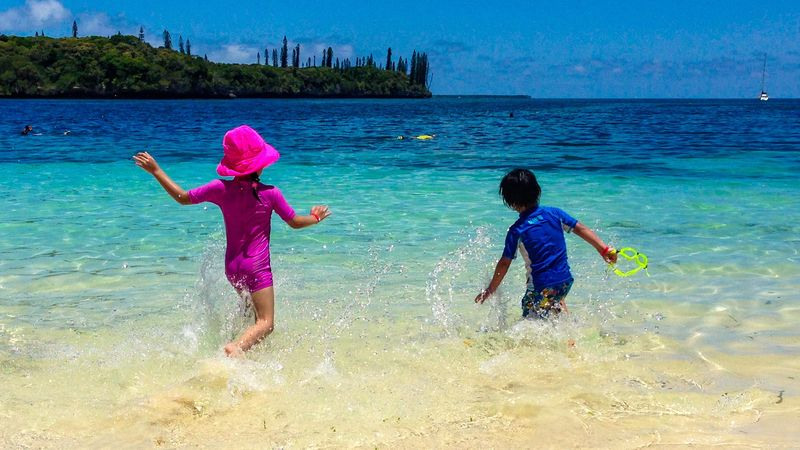 Fun In The Sun Sun Funtimes Fun Isle Of Pines South Pacific Royal Caribbean Cruise EyeEm Selects EyeEm Nature Lover EyeEmNewHere EyeEm Best Shots EyeEm Child Childhood Girls Sea Water Beach The Great Outdoors - 2018 EyeEm Awards Nature Offspring Positive Emotion Outdoors Family Togetherness Leisure Activity Sand