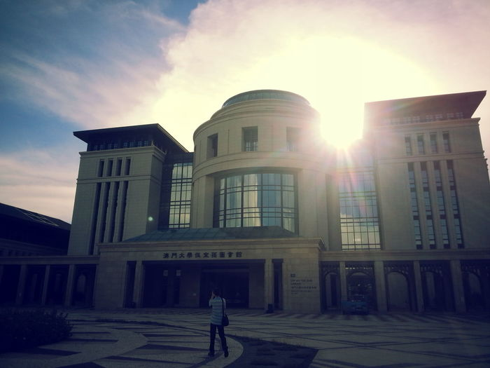 UMAC ◇ Hengqin ◇ Library ◇ Architecture