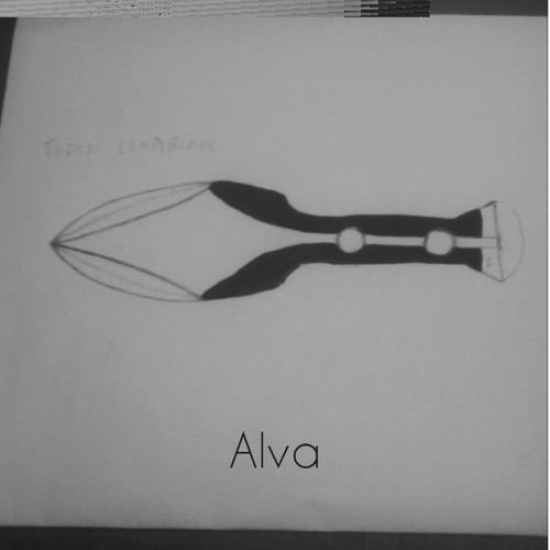 Rough sketch, would love to do it as a throwing knife/dagger. Alva Knifes Bladesmithing Blades Elf Leafblade