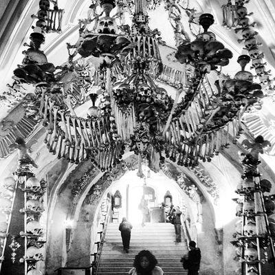 Sedlec Ossuary Kutnahora Skeletons Whereschesa