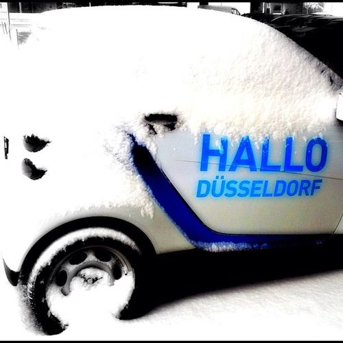 What you can do with Googleplus Imageeditor Smart CAR2GO snow winter