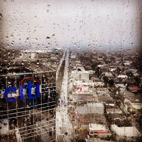 Rainy Wednesday. View from the office. Eastwood Mdc100