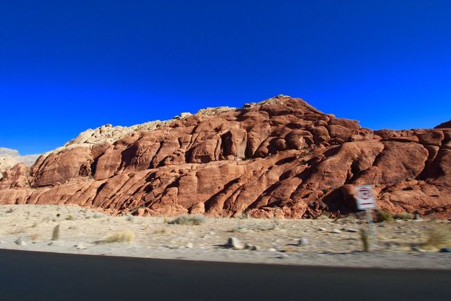 Red Rock Canyon EyeEm Selects Rock - Object Rock Formation Nature Arid Climate Blue Geology Tranquility Scenics Desert Beauty In Nature Tranquil Scene Clear Sky Day Physical Geography Mountain No People Landscape Outdoors
