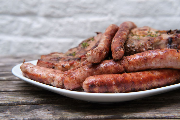 sausages and