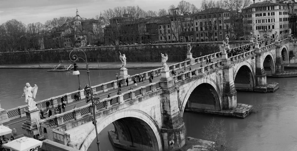 Arch Arch Bridge Architecture Boat Bridge Bridge - Man Made Structure Building Exterior Built Structure Canal City Connection Mode Of Transport Moored Nautical Vessel River Transportation Travel Travel Destinations Water Waterfront