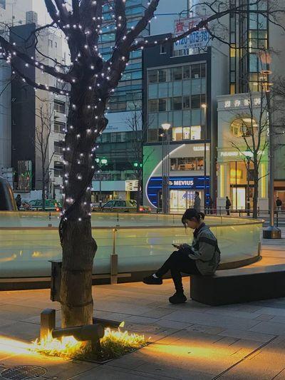 Japanese girl reading book