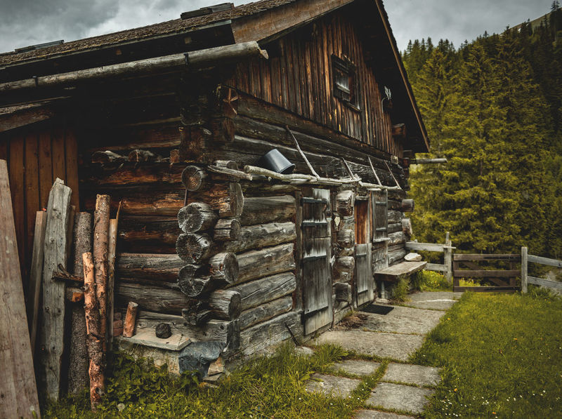 Switzerland Alpenbliss Almhütte Alpine Chalet Entrance Suisse  Wooden Hut Woodpile Alpine Hut Alps Alps Switzerland Calfeisental Country Life Countryside Fencing Forest Garden Landscape Mountain Hiking Mountain Hut Mountain Village Still Life Swiss Switzerland Wood Cabin Wooden Cabin