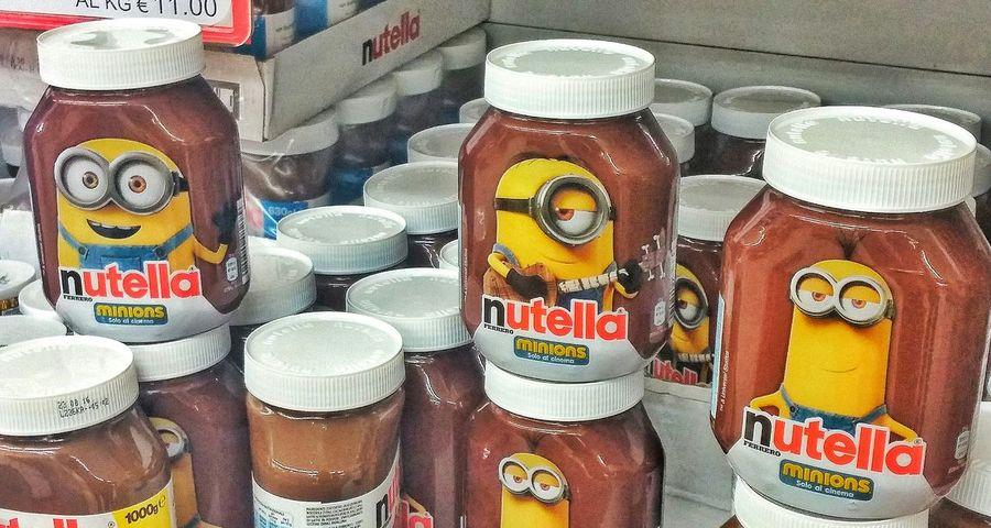Minion LoveMinions Minions ♥♥ Bob Stuart Kevin Nutella Nutella ❤ I Love Nutella
