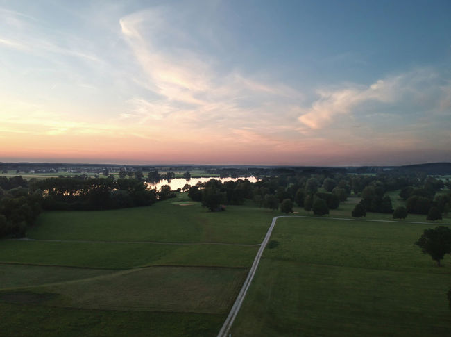 Beauty In Nature Cloud - Sky Dji Spark Environment Grass Horizon Horizon Over Water Idyllic Land Landscape Nature No People Outdoors Plant Scenics - Nature Sea Sky Sunset Tranquil Scene Tranquility Water