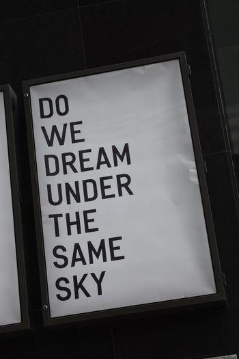Brisbane Brisbane Australia Brisbane City Brisbaneeyeem Caption Close-up Communication Dream Dreams Low Angle View Sky Text Text Western Script Words Of Wisdom...