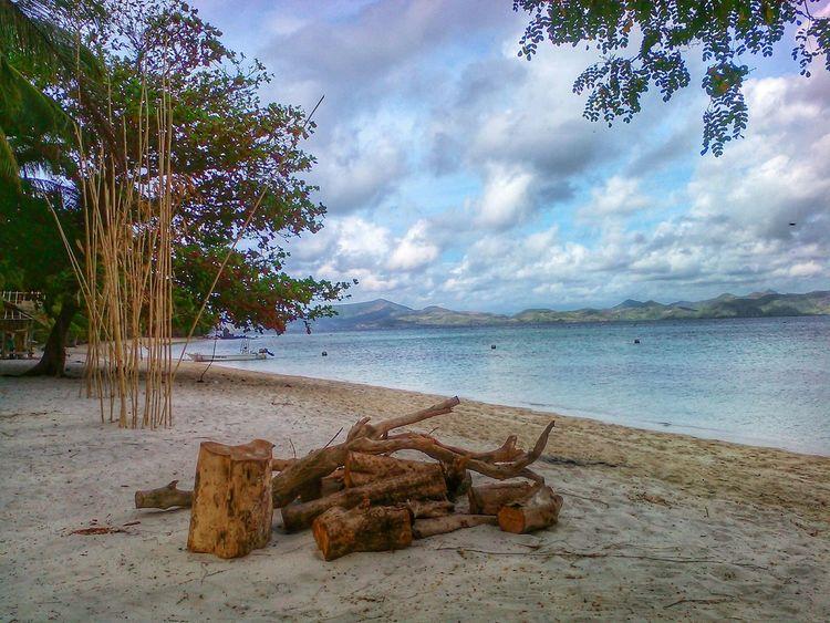 Nature at its best. Palawanadventures Palawanbeach  Mobilephotography Breathtaking Travel Snapseed Enjoying Nature