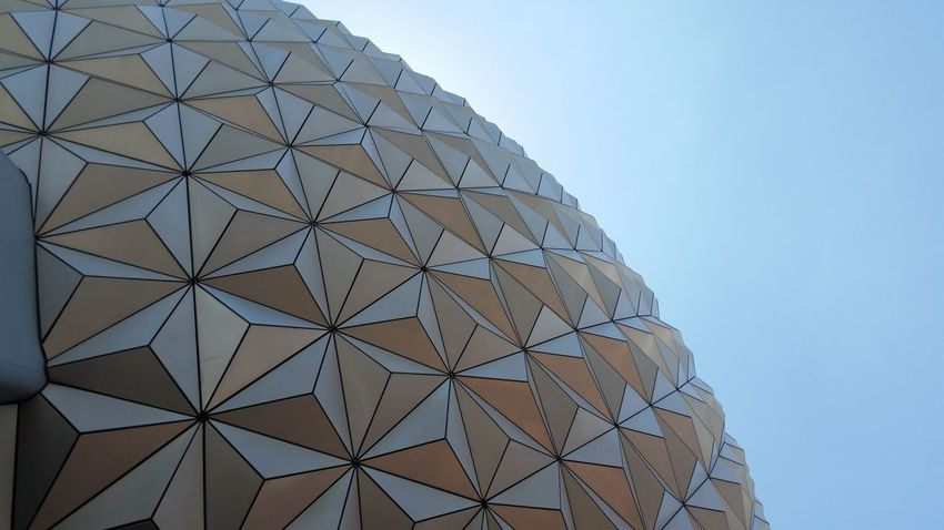Architecture Lines Sphere DisneyWorld Epcot Vacation Florida Triangles The Architect - 2018 EyeEm Awards