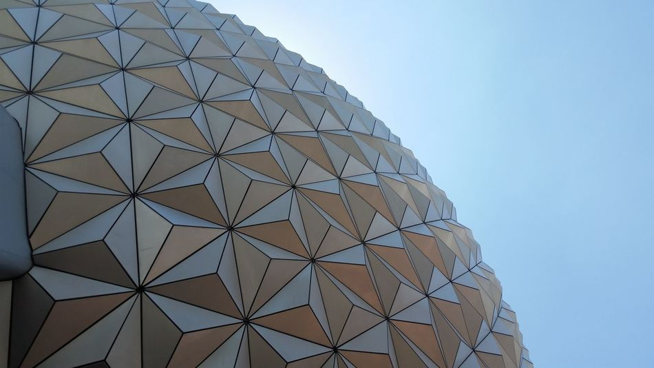Architecture Lines Sphere DisneyWorld Epcot Vacation Florida Triangles The Architect - 2018 EyeEm Awards