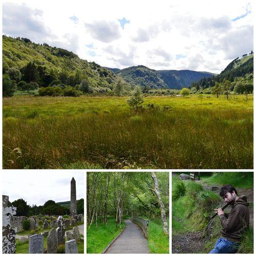 Ireland. Glendalough. Holiday Traveling Sight