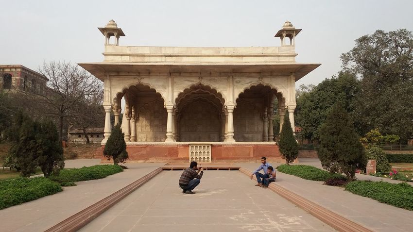 Delhi Outing With Friends Hanging Out Building And Photography Lal Quila