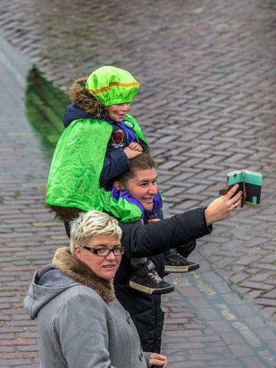 Children Festive Season Happy How You Celebrate Holidays Intochtsinterklaas Kinderenaanhetwater Netherlands Santa Claus Sinterklaas St. Nicolas Zwarte Piet